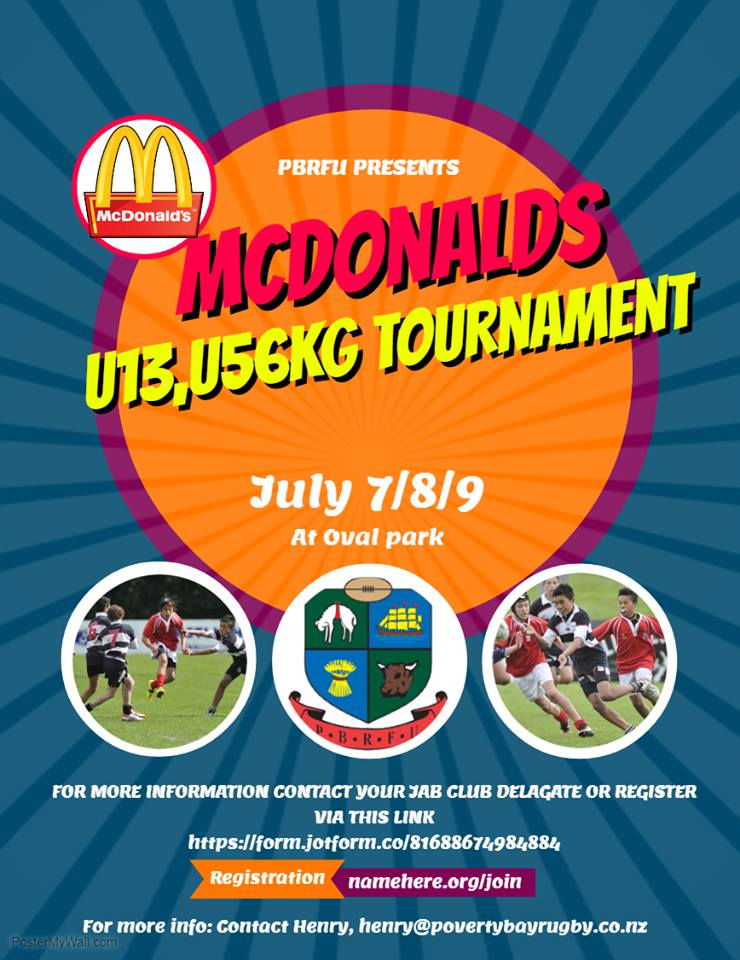 McDonalds U13 Restricted U56kg Tournament – 7th and 8th July