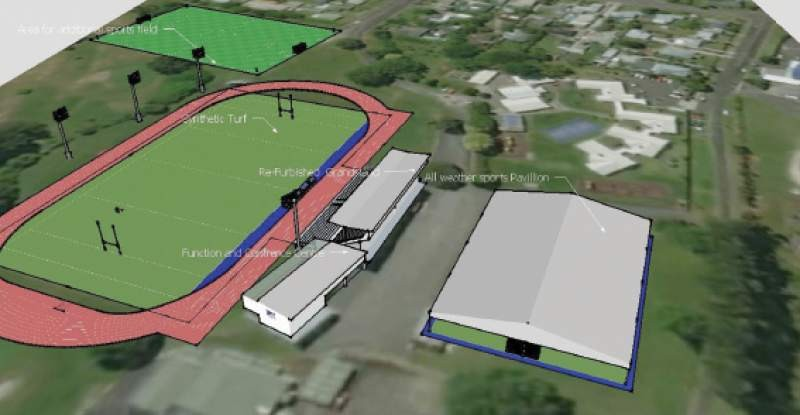 Hub plan for Rugby Park