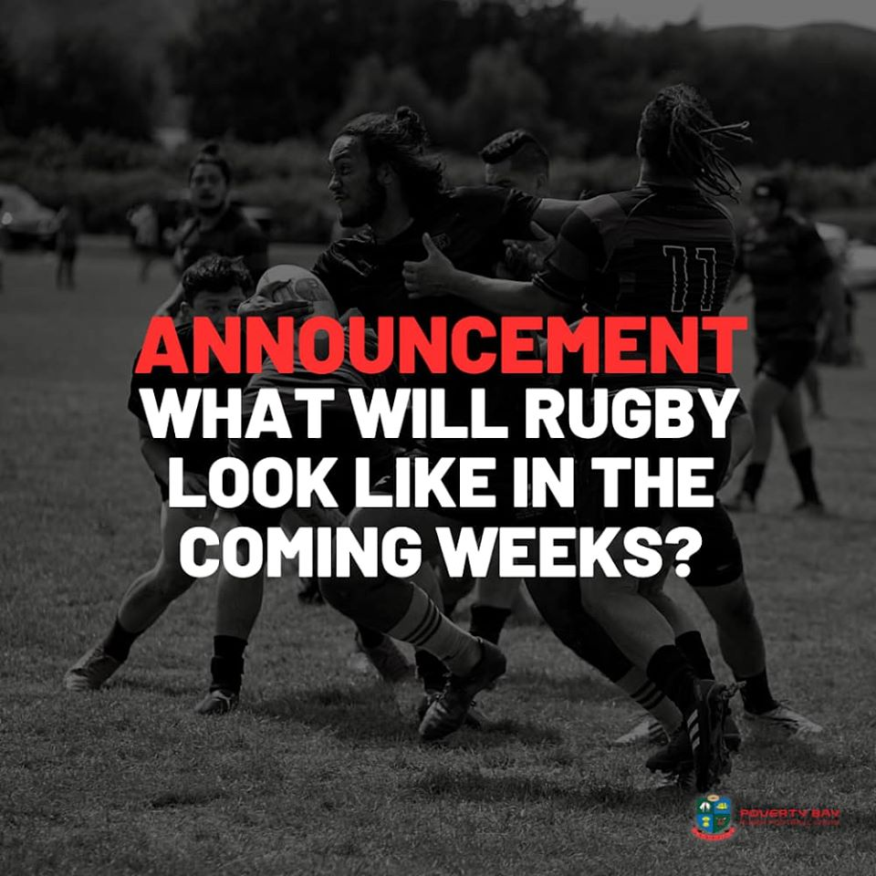 What will community rugby look like in the coming weeks?