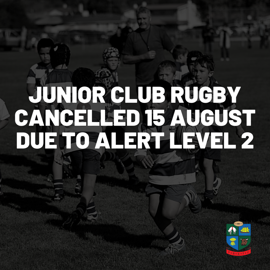 JAB Rugby cancelled this weekend