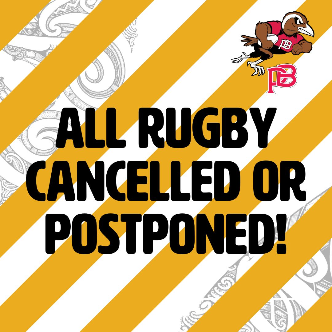 All rugby in New Zealand this weekend cancelled or postponed