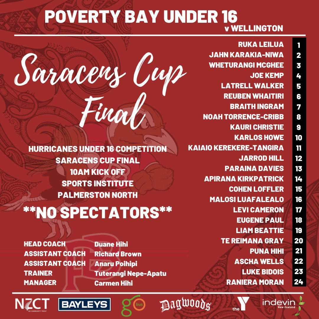 Watch the Under 16 Saracens Cup Final
